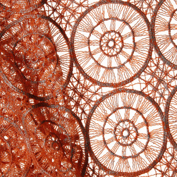 Image de leiz cm 95 MACRAME'+LAMINA ric. lana