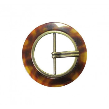 Image of Zamak buckle with cammeo effect